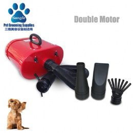 Double Motor Hair Dryer For Dogs,Two adjustable  shifts