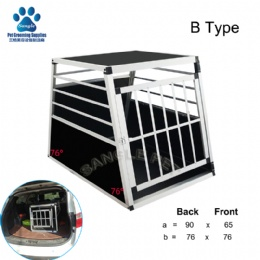 Portable Dog Cage Aluminum Pet Carrier