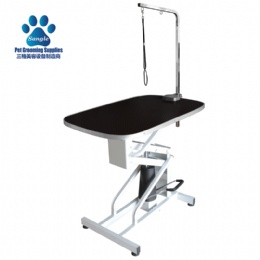Oval Hydraulic lifting Dog Grooming Table
