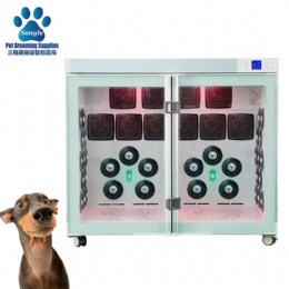 Dual Compartment Pet Dryer Box Cabinet