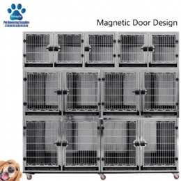 Multi-layer Combined Pet Stainless Steel Cage Bank