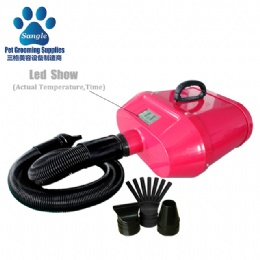 Double Motor Hair Dryer For Dogs,Led show